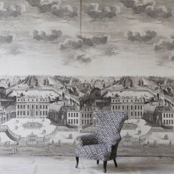 Décor mural - Designer's Guild - BUCKINGHAM HOUSE - graphite