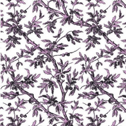 Papier peint - Edmond Petit - Branches de Pin - rose