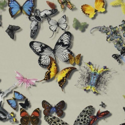 Tissu - Christian Lacroix - Butterfly Parade - Daim