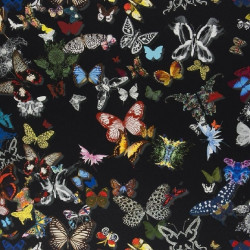 Tissu - Christian Lacroix - Butterfly Parade - Oscuro