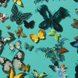 Tissu - Christian Lacroix - Butterfly Parade - Lagon