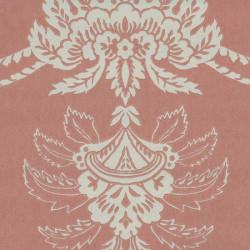 Papier peint - Anna French - Damask - Terracotta and Buff