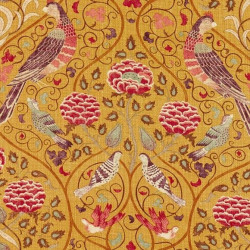 Tissu - Morris and Co. - Seasons By May - Saffron