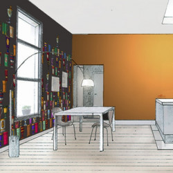 Décor mural - Cole and Son - Boemia - Taupe