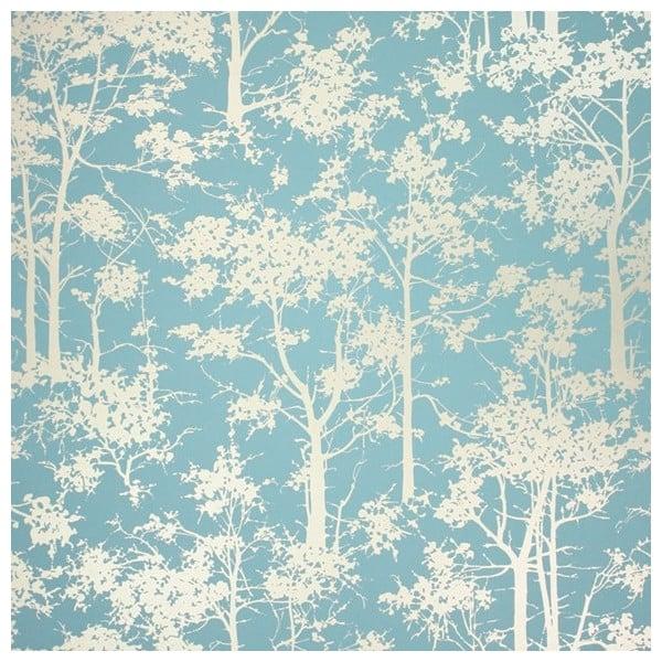 Papier Peint Botanique Bleu Mandara Osborne Little Au Fil Des