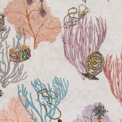Tissu - Matthew Williamson - Coralino - Crocus