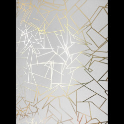 Papier peint - Erica Wakerly - Angles - COPPER ROSE/WHITE