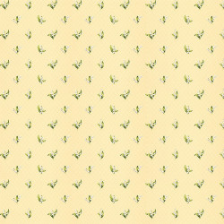 Papier peint - Thibaut - Lily of the Valley - Yellow