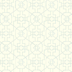 Papier peint - Thibaut - Bamboo Lattice - Off White