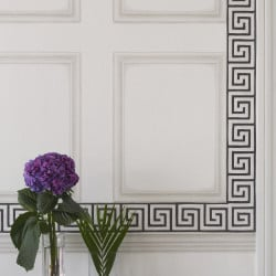 Frise - Cole and Son - Queens Key Border - Pink & Ivory