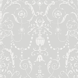 Papier peint - Cole and Son - Regalia - Grey