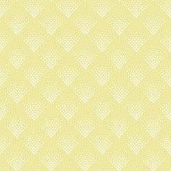 Papier peint - Maison Martin Morel - Damier - Jaune citron