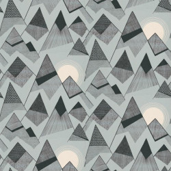 Papier peint - MissPrint - Mountains - Blue moon