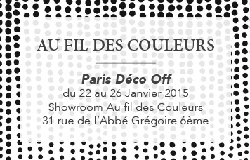 maison objet et paris d co off 2015 blog au fil des couleurs papiers peints et d cors muraux. Black Bedroom Furniture Sets. Home Design Ideas