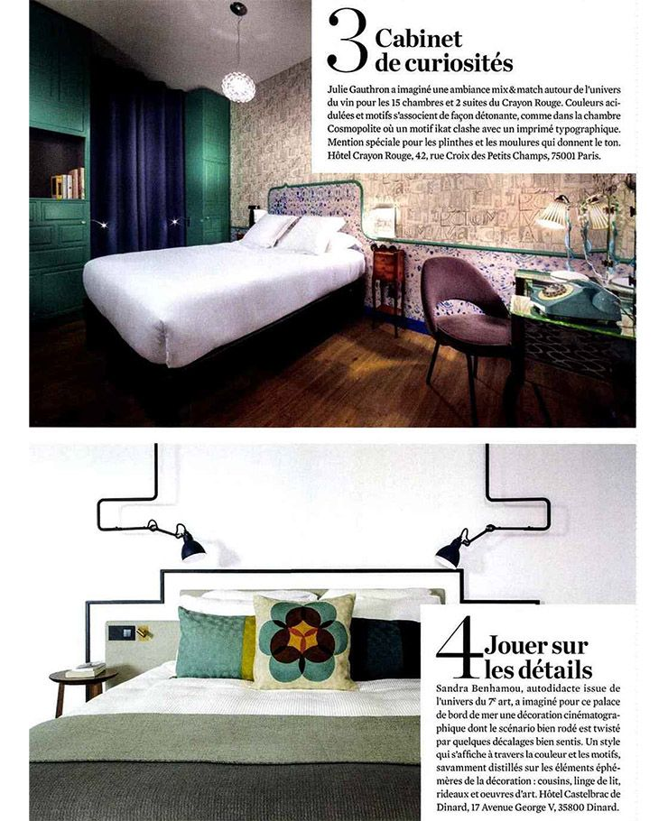 le journal de la maison septembre 2016 blog au fil des couleurs papiers peints et d cors muraux. Black Bedroom Furniture Sets. Home Design Ideas