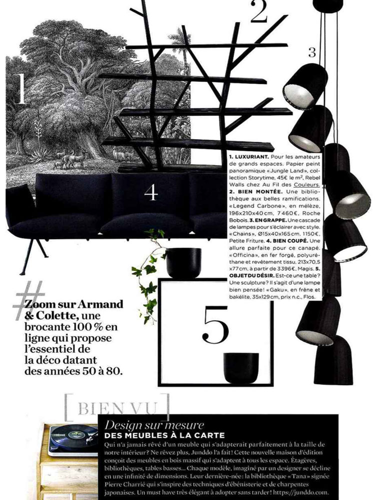 le journal de la maison octobre 2017 blog au fil des couleurs papiers peints et d cors muraux. Black Bedroom Furniture Sets. Home Design Ideas