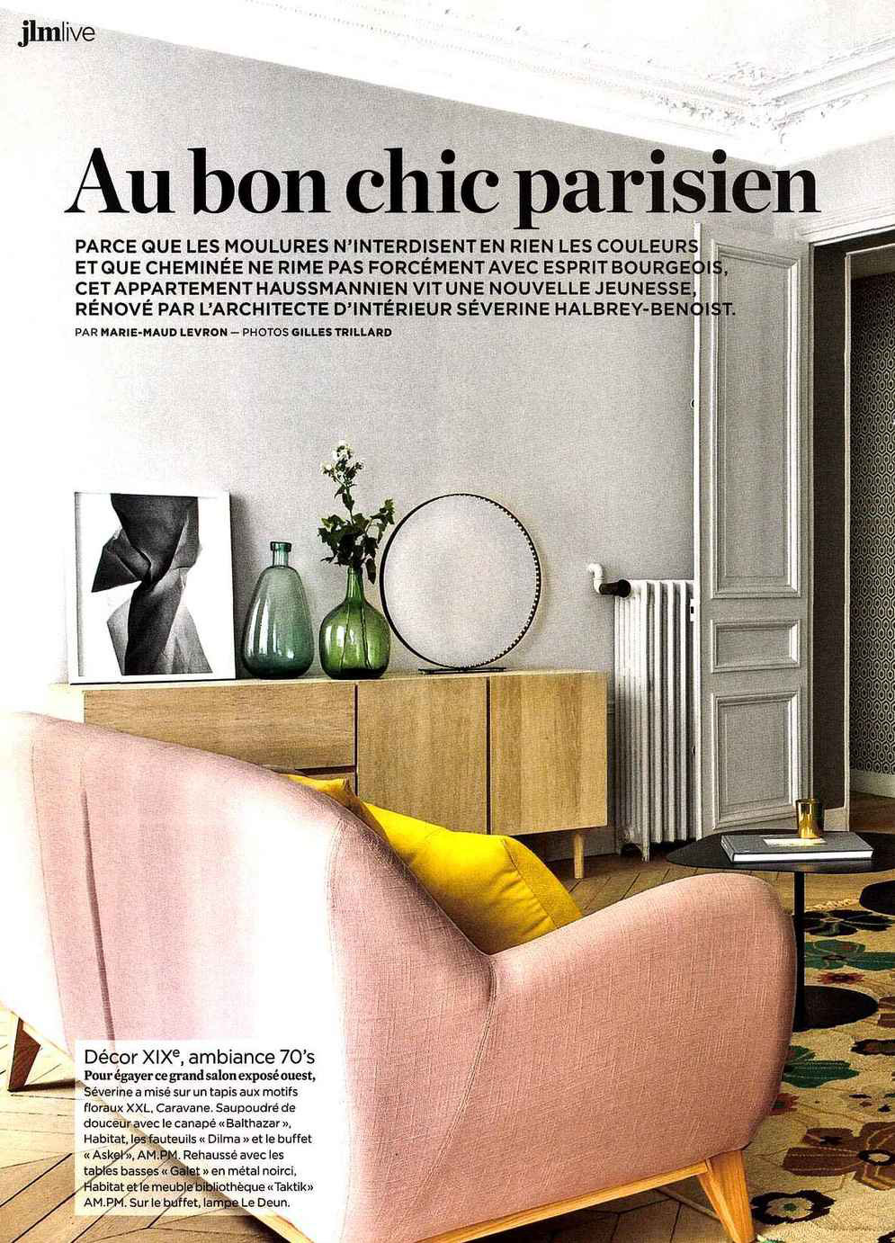 le journal de la maison octobre 2015 blog au fil des couleurs papiers peints et d cors muraux. Black Bedroom Furniture Sets. Home Design Ideas