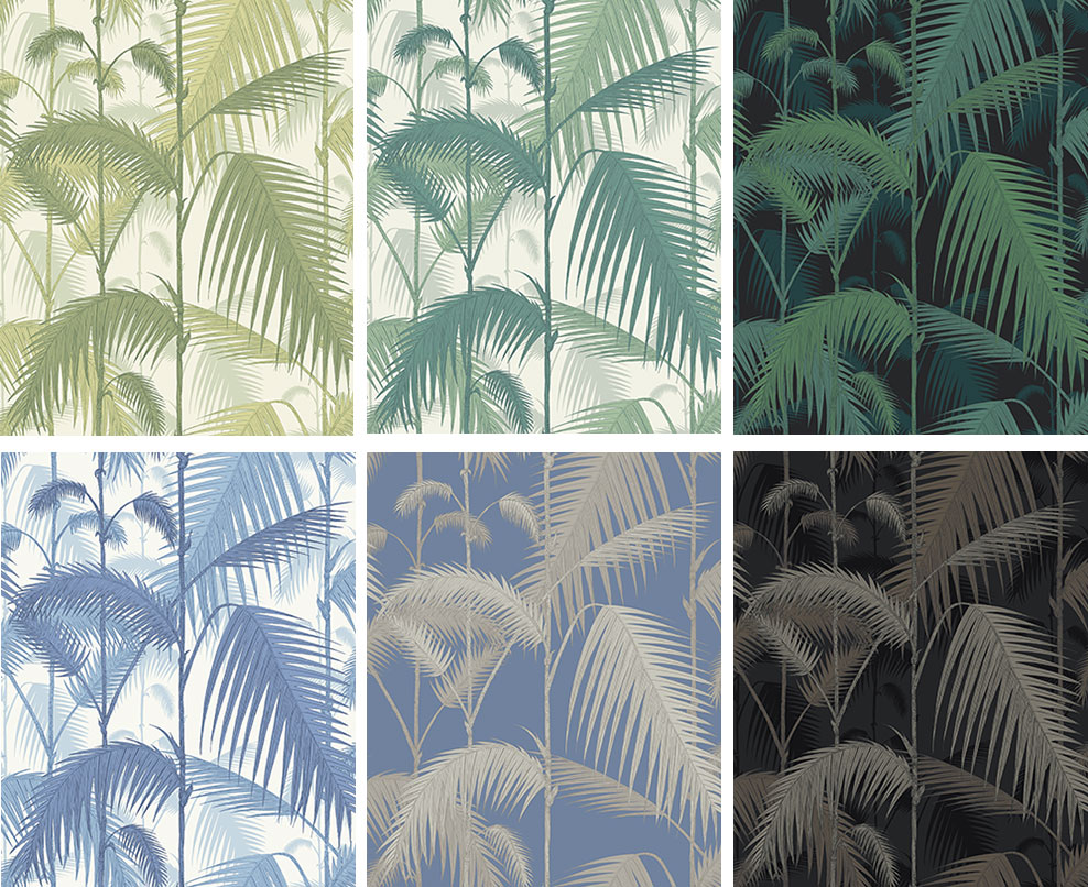 Papier peint Palm Jungle - Cole and Son - Au fil des Couleurs