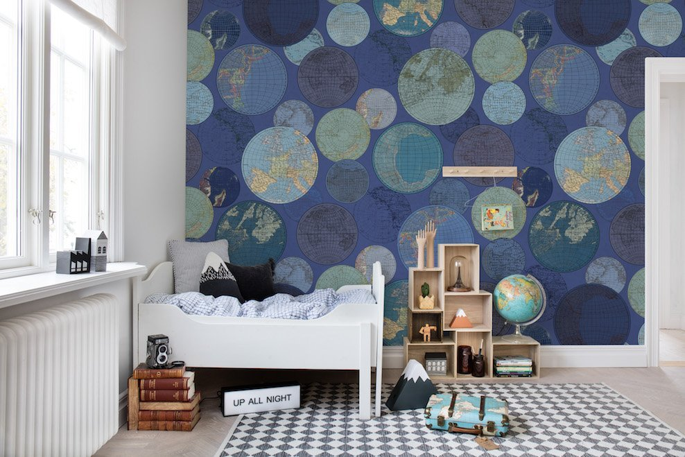 Globes Gathering - Collection Palette - Rebel Walls