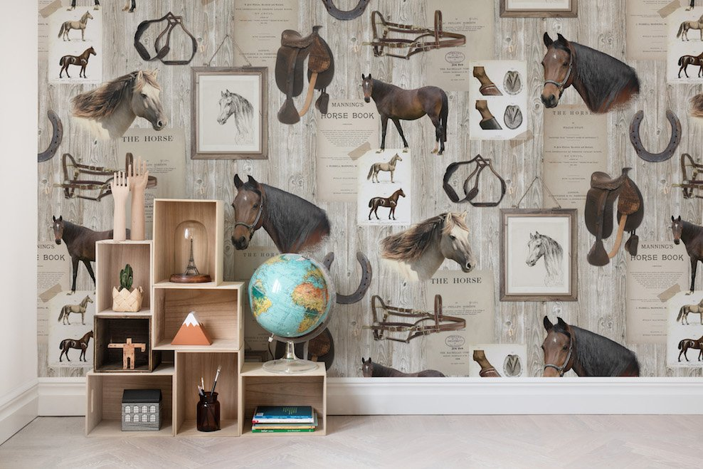 Horse Mania - Collection Palette - Rebel Walls