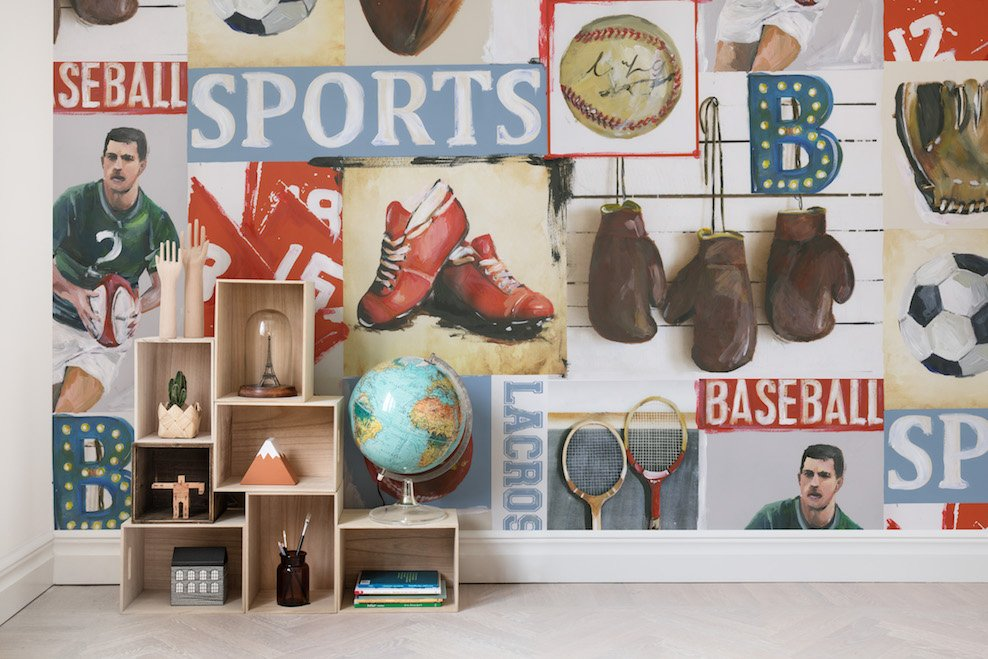 Sports Junkie - Collection Palette - Rebel Walls