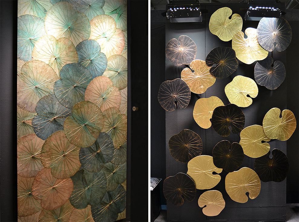 Shermans-Lotus-Wall-Art-Maison-Objet-Septembre-2019