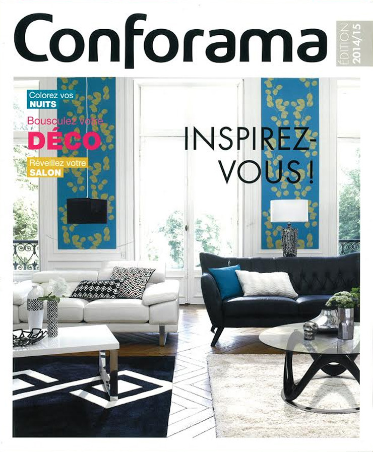 conforama catalogue solutions pour la d coration. Black Bedroom Furniture Sets. Home Design Ideas