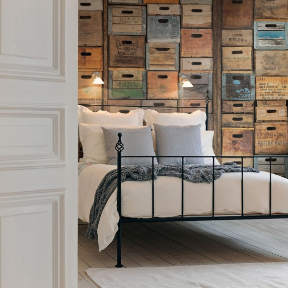 frontage de rebel walls trompe l il et effets de mati res blog au fil des couleurs. Black Bedroom Furniture Sets. Home Design Ideas